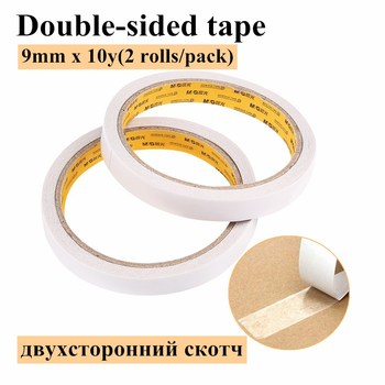 M&G Stationery Double-sided Adhesive Cotton Paper Double-sided Adhesive Tape Strong Sponge Adhesive AJD97348 20 sheets lot double sided tissue tape strong adhesive good for hardcover photo albums brochures menu folder etc