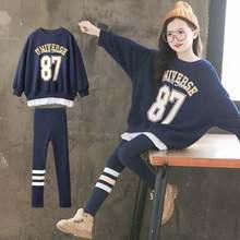 Весенняя одежда для девочек детские спортивные комплекты новый