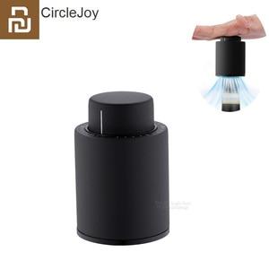 Image 1 - נובו Youpin bouchon דה זיכרון יין חשמלי מעגל שמחה יין פקקים מתכת דיגיטלי בקנה מידה