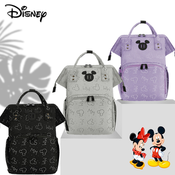 Disney Mickey USB Mommy Maternity Diaper Bags Large Capacity Baby Organizer Travel Baby Care Bag Fashion Mom Diaper Bag Backpack