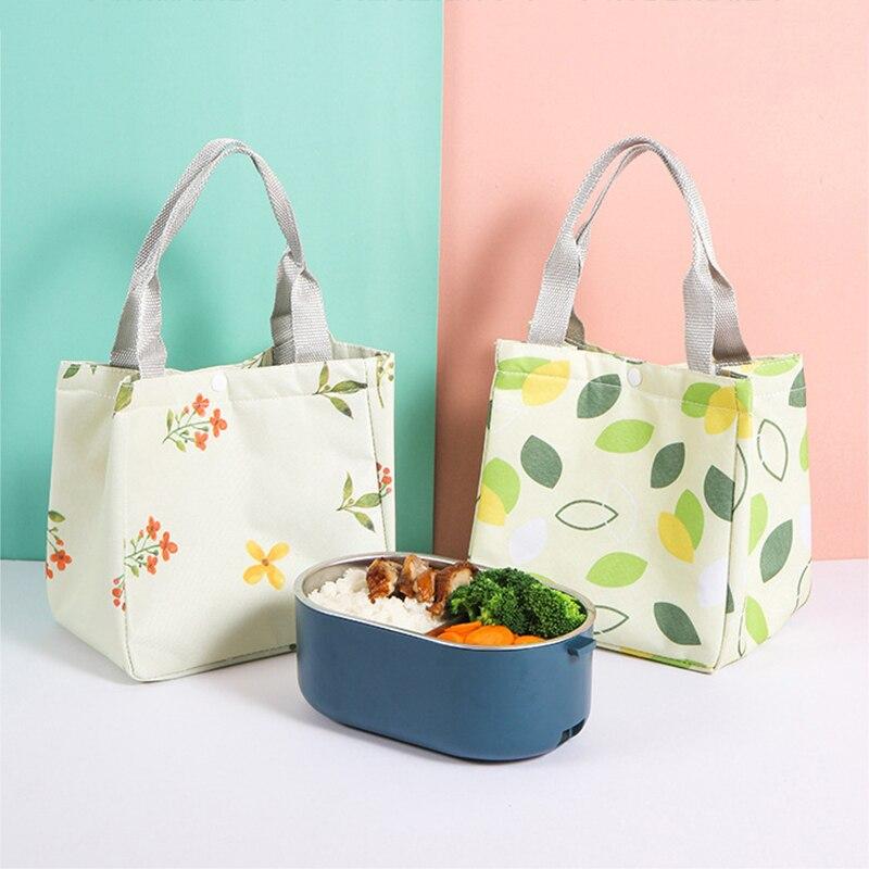 Свежесть, изоляция сумка для обеда для Для женщин студент малыш Термальность утепленные для пикника из ткани Оксфорд ящик-охладитель для пи...