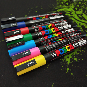 Image 4 - Uni mitsubishi Posca PC 3M Paint Marker Writing Pen Fine Tip 0.9 1.3mm 15 Colors/Set