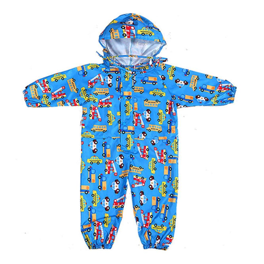 Cartoon Raincoat Kids Children Jumpsuit Rainwear Boy Girl Waterproof Poncho Raincoat Kids Дождевик Детский 키즈방수