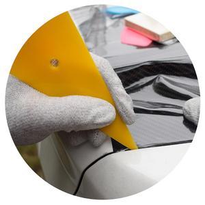 Image 5 - 5 قطعة المهنية Go Corner الممسحة نافذة تينت أدوات فيلم الأصفر مكشطة سيارة الشارات ملصق فينيل أدوات قضيب 5A05