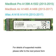 128GB 256GB 512GB 1TB SSD dla 2013 2014 2015 2017 Macbook Air A1465 A1466 dla Macbook Pro Retina A1398 A1502 dysk półprzewodnikowy