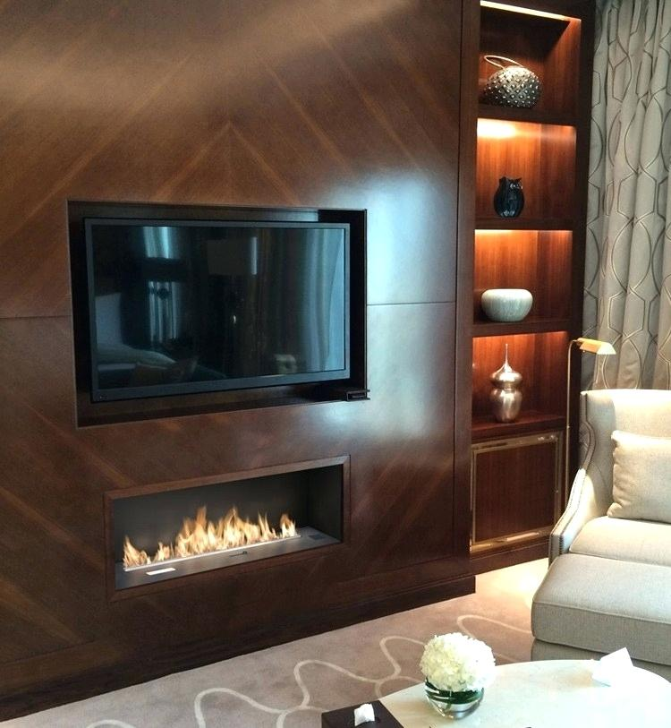 Inno Living Fire 36 Inch Decorative Electric Fireplace Ethanol Fireplace