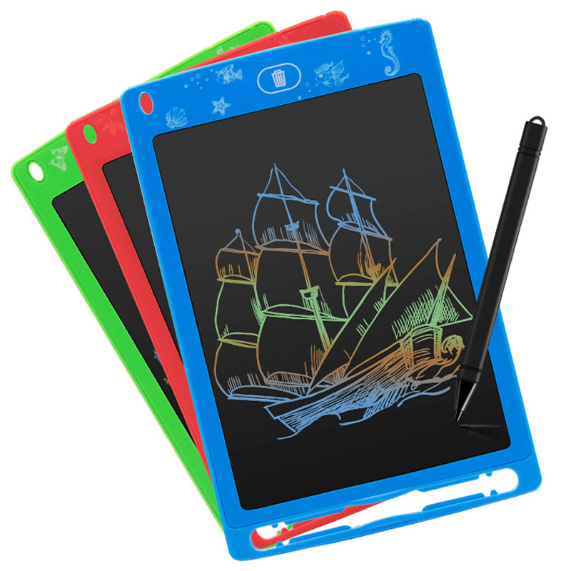 Electric Digital Colorful LCD Writing Pad Tablet Drawing Graphic Board Notepad U