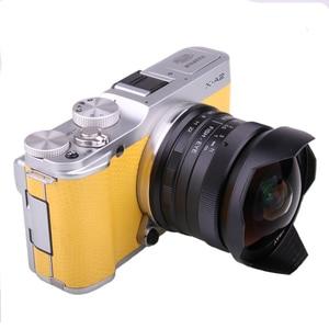 Image 2 - RISESPRAY 7.5mm f2.8 fisheye עדשת 180 APS C ידני קבוע עדשה עבור Sony E הר מכירה לוהטת משלוח חינם