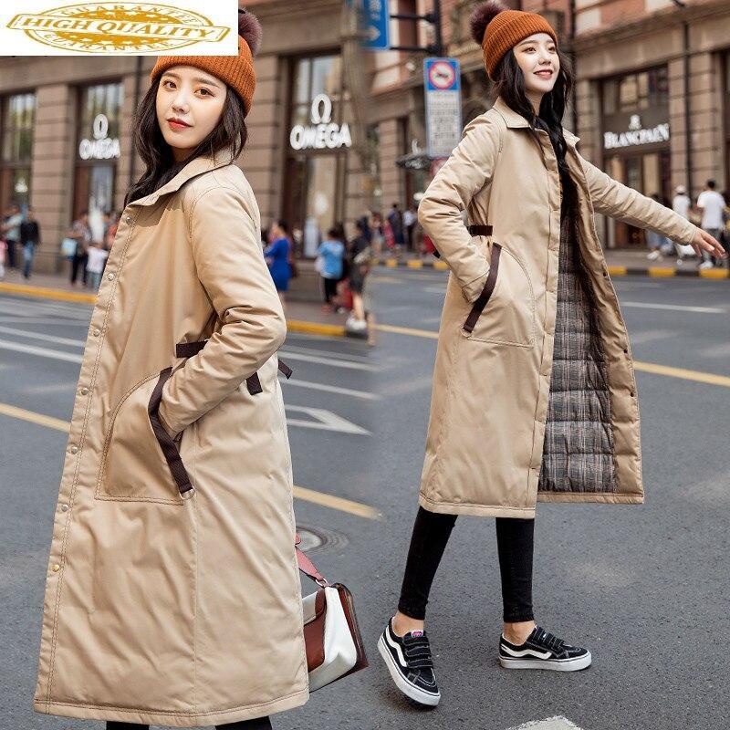 90% White Duck Down Jacket Women Winter Coat Women Down Coat Korean Puffer Jacket Warm Parka Abrigos YY18D195 YY1445
