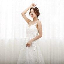 칵테일 드레스 상위 패션 Vestido 칵테일 고급 2020 새로운 신부 여성 슬링 Backless 연회 저녁