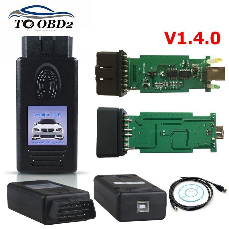 For BMW Scanner Version V1.4.0 With FTDI FT232RL Chip PA Soft For BMW Scanner Vesion 1.4 OBD2 Diagnostic Tool Best Price