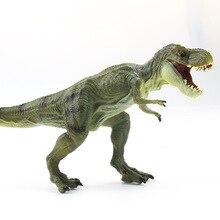 Детский Набор игрушечных динозавров T-игрушка Rex животные игрушки Райский динозавр модель мальчик