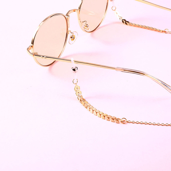 Smycz do okularów koralik łańcuszek do okularów modne okulary pasek okulary sznury akcesoria do okularów Casual tanie i dobre opinie CN (pochodzenie) Unisex Metal 70cm Sunglasses Ze stopu cynku Stałe chain for glasses lanyard