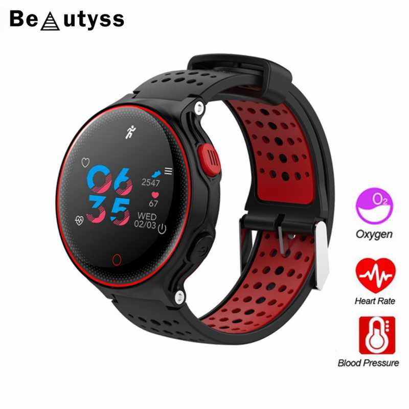 Beautyss X2 plus smart watch color screen Bracelet sports bluetooth band fitness bracelet Heart Rate Monitor amazfit bip  IP68