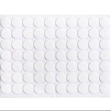 70 pçs/lote criativo transparente dupla face fita de cola redonda impermeável não-traço forte adesivos colar escritório casa suprimentos
