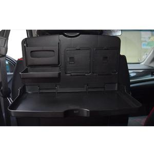 Универсальный черный Автомобильный поднос для еды, складной держатель для обеденного стола, поддон для автомобиля, поддон, держатель для ча...
