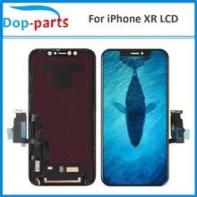 100% оригинальный высококачественный ЖК-экран для iPhone XR, ЖК-дисплей, дигитайзер, сенсорный модуль, замена 6,1 дюймов, без битых пикселей