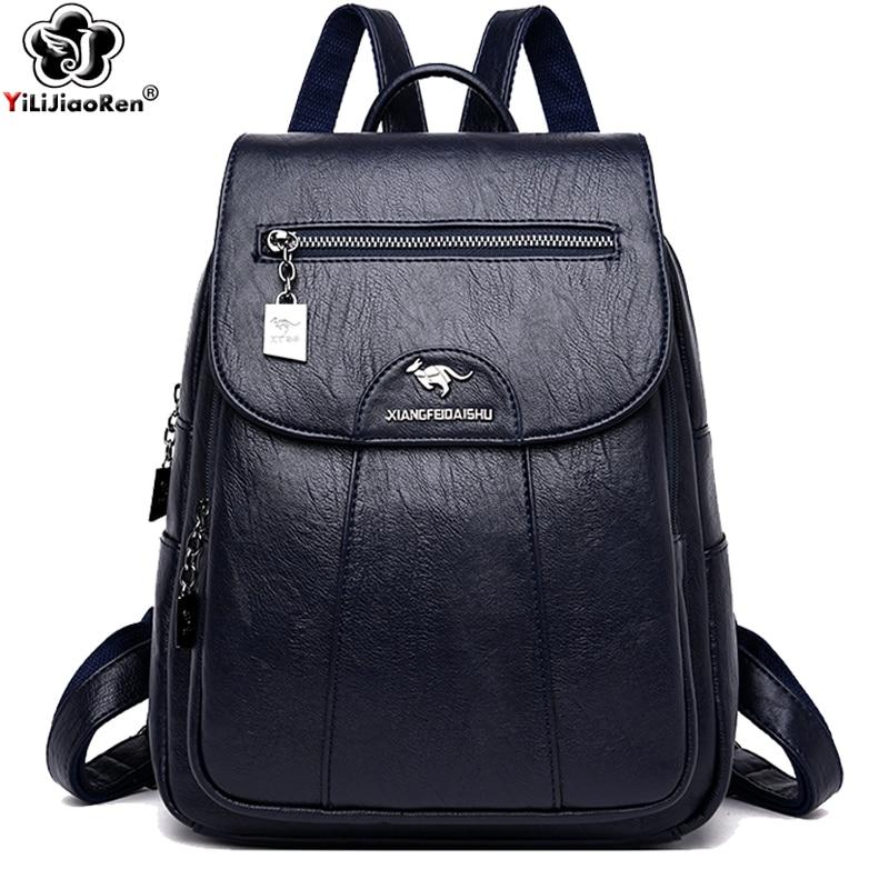 Fashion Backpack Designers Brand Large Backpack Shoulder Bag Women Backpack For School Style Leather Bag For College Mochilas