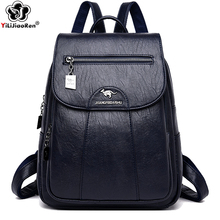 Fashion Backpack Designers Brand Large Shoulder Bag Women for School Style Leather College Mochilas