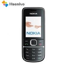 Nokia 2700c remodelado-original nokia 2700 clássico desbloqueado celular gsm 2mp fm mp3 player barato telefone nokia livre shipping