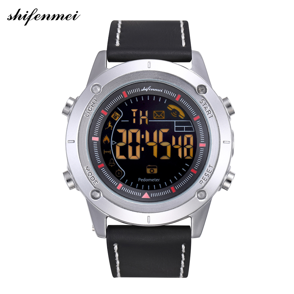Shifenmei Sport Watch Bluetooth Android/IOS Phones Waterproof GPS Touch Screen Sports Health Smart Men Watches relogio masculino