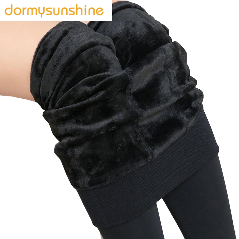 FreeShipping Women Leggings Inside Thicken Fur Warm Leggings Womens Winter Fleece Legging Pants Female Velvet Leggins