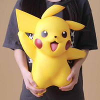 Big Size 1:1 Pikachu Stand Ver. Action Figure Toys 40cm
