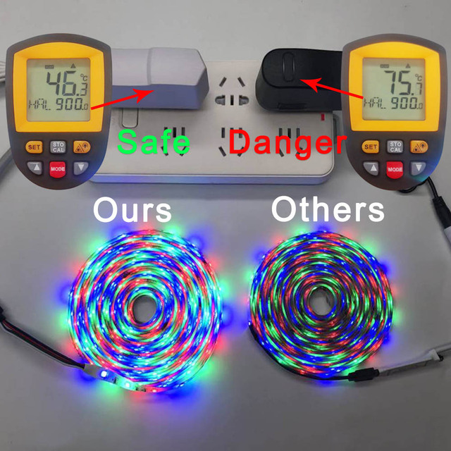 5M 10M 15M WIFI LED Strip RGB SMD 3528 5050 12V Flexible Home Decoration Tira RGB LED Light Strip Waterproof 5
