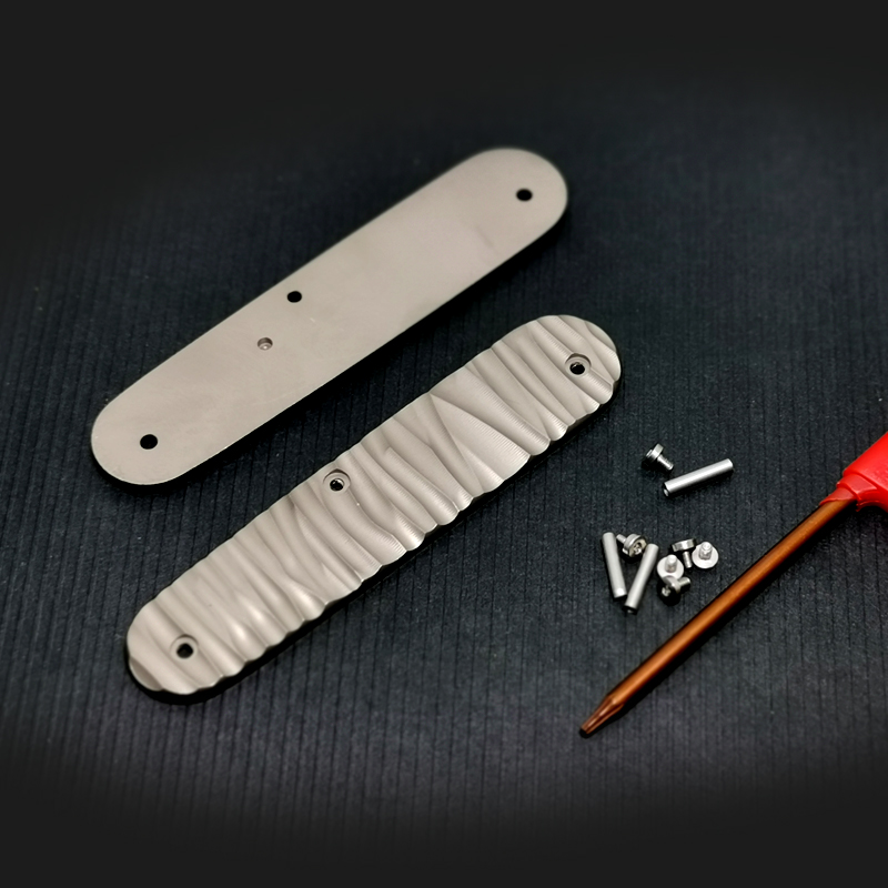 A189 Available In A Variety Of Sizes And Styles Titanium Alloy TC4 Three-dimensional Version Saber Modified Patch Handle
