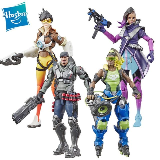 Hasbro Overwatch Ultimates Series Sombra Tracer Lucio Blackwatch Reyes (Reaper) Skin 6