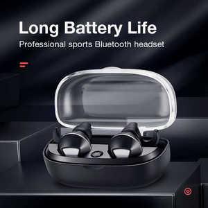 Image 2 - SANLEPUS Bluetooth Earphones Wireless Headphones Dual Mini Earbuds TWS 5.0 Handsfree Headset With Mic For Phones xiaomi Samsung