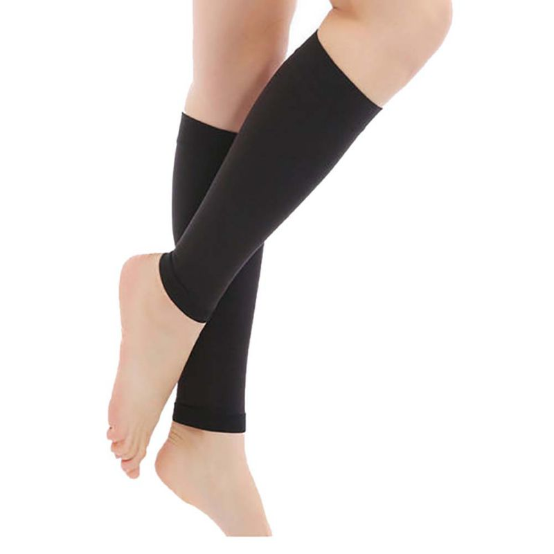 Stocking 1 Pair Elastic Relieve Leg Calf Sleeve Varicose Vein Circulation Compression Stocking Care Leg Support Ankle Stocking Pakistan