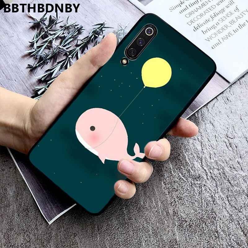 جراب هاتف القط الدب تماما سطع فاخر فريد تصميم الهاتف جراب هاتف شاومي 8 9 se Redmi 6 6pro 6A 4X7 نوت 5 7