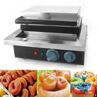 12 Grids Electirc Donut Maker Doughnut Mold Commercial Automatic Donut Snack Maker Making Machine Home Party Dessert Bakeware