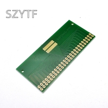 5pcs/bag double row 50pin 0.4mm pitch  LCM TFT LCD universal adapter plate test board
