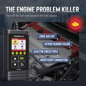 Image 2 - THINKCAR Thinkobd 100 obd2 scanner car diagnostic tool fault code reader automotive scan tools Car Engine check pk elm327 cr3001