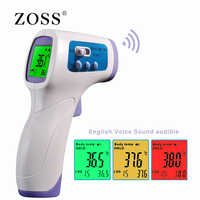 ZOSS Muti-fuction Baby/Adult Digital Termomete Infrared Forehead Body Thermometer Gun Non-contact Temperature Measurement Device