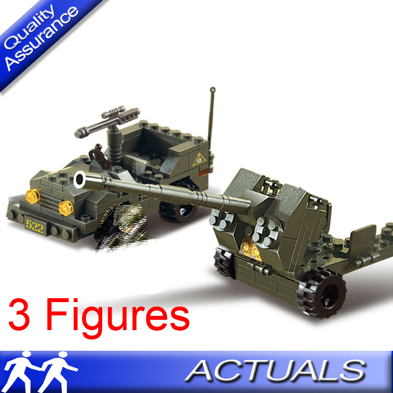 Sluban Building Blocks Land Forces AntiAircraft Military 138 PC Set New