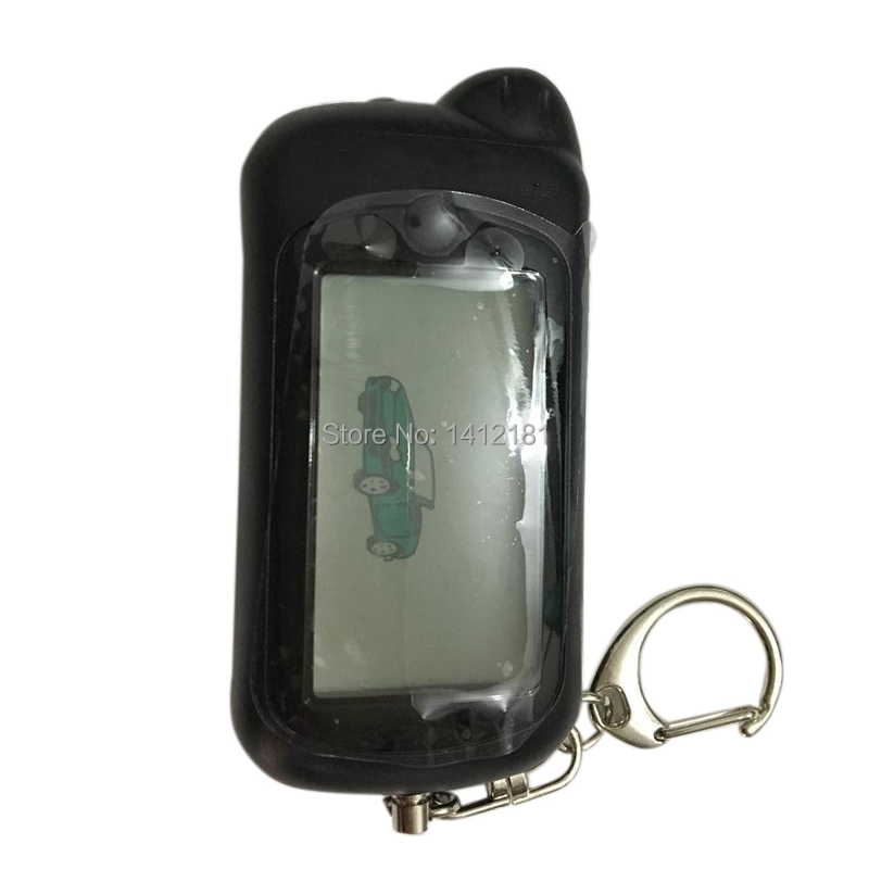 RU Z5 Car Remote Control Key Fob For Russian Tomahawk Z5 Z3 Lcd Remote Keychain Two Way Car Alarm System, 434MHz 1.5V AAA