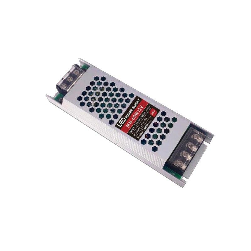 Transformator Netzteil Ultra Dünne schlank DC 12V 60W 150W AC190-240V Fahrer Für LED Streifen Starre Bar licht