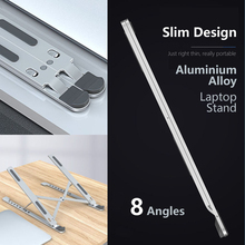 Stand For Laptop 8 Angles Aluminum Adjustable Foldable Adjustable For Macbook Pro Air