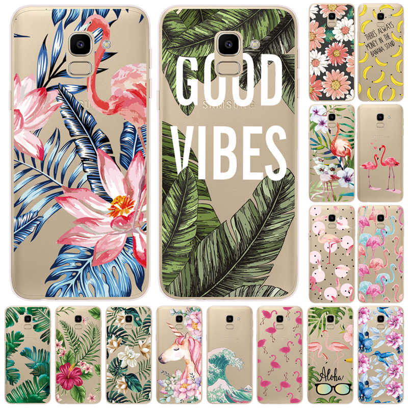 For Samsung J6 2018 Case EU J600 J600F SM-J600F Silicon Soft TPU Cover For Samsung Galaxy J6 Plus 2018 J6+ J 6 Plus J610 J610F