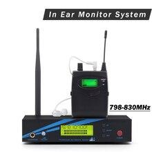 В ухо монитор UHF беспроводная система EW 300 IEM G2 Двойной передатчик мониторинг бодипак Профессиональный для сценического представления