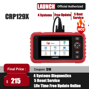 Image 1 - STARTEN X431 CRP129X OBD2 Scanner OBDII Automotive Auto Code Reader OBD Diagnose Werkzeug ABS SRS Transmission Motor Öl/EPB/TPMS