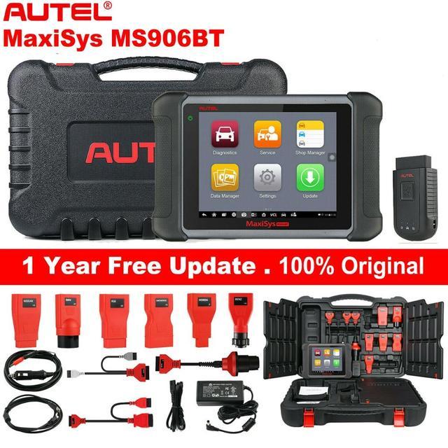 Autel MaxiSys MS906BT OBD2 Tự Động Công Cụ Chẩn Đoán Máy Quét ECU Mã Hóa Như MK908
