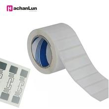 UHF стикер 9662 инкрустация rfid gen2 УВЧ бумажная бирка с чужеродным чипом H3 используется для управления складом