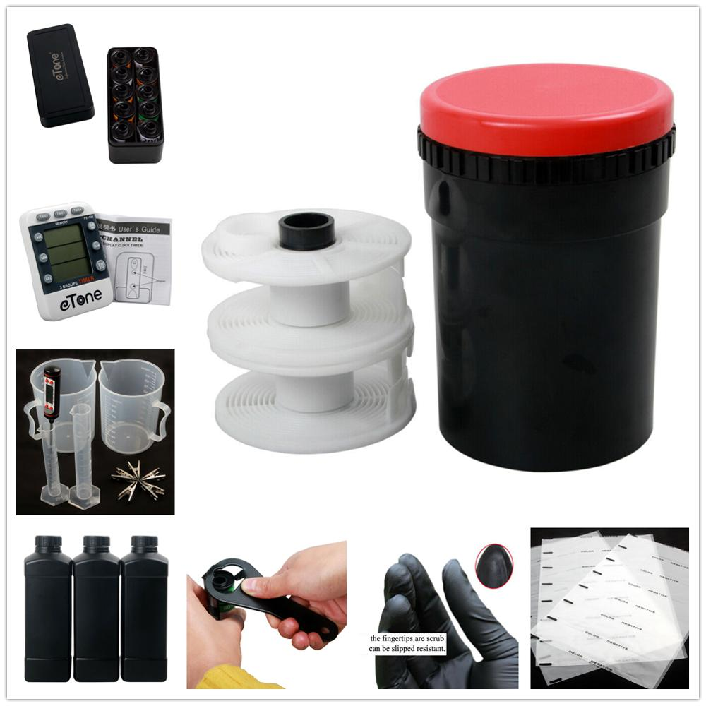 Photography Accessories 120 135 35mm Case Color B&W Film Processing Developing 35mm Film Opener  Darkroom Equipment Kit Set