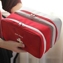 Портативный аптечка первой помощи 23x13 см аварийный красный