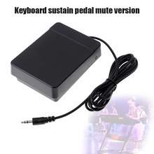 Hot Keyboard Sustain Pedal Mute Version Universal Foot Sustain Pedal Controller MVI-ing yuker universal damper sustain pedal foot switch for piano for keyboard silver