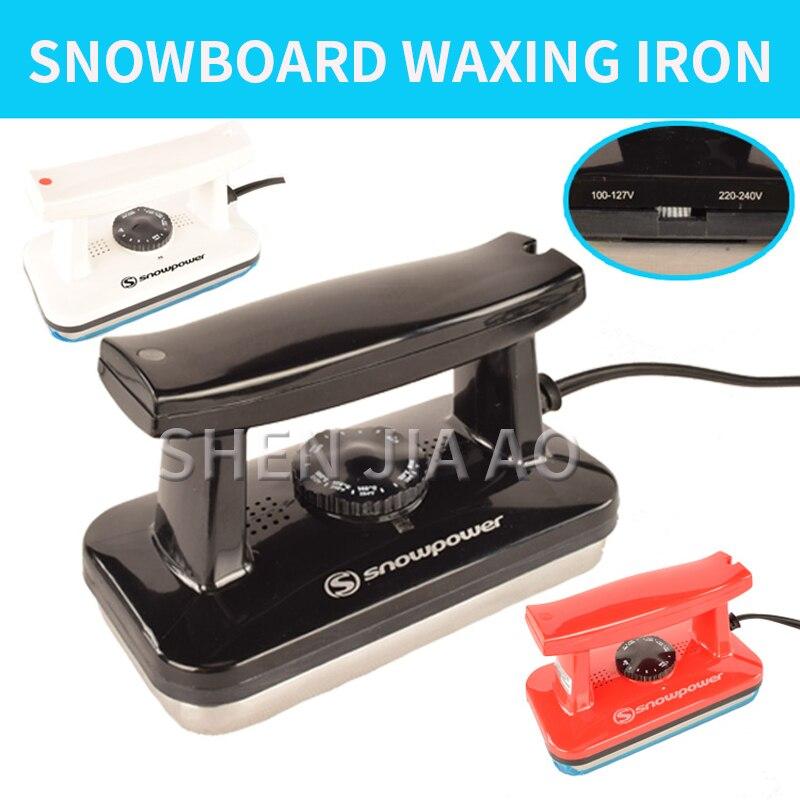 Snowboard épilation à la cire fer à neige fer 110/220v double tension fer électrique Ski de plein air accessoires essentiels équipement de Ski